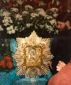 Председатель Правительства Свердловской области поклонился чудотворной иконе Пресвятой Богородицы